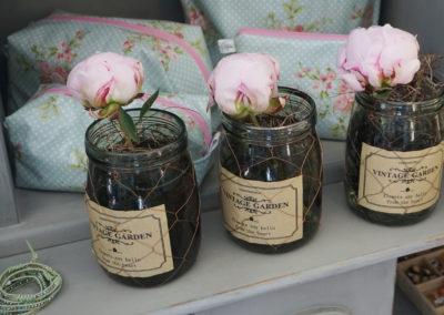 auf Bestellung Blumendekogläser mit Schnittblume
