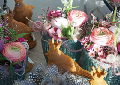 ShopF b002 - Schnittblumen als kleine Hingucker für Tisch etc - auf Bestellung und Vogel Otta Eisenguss an Lager