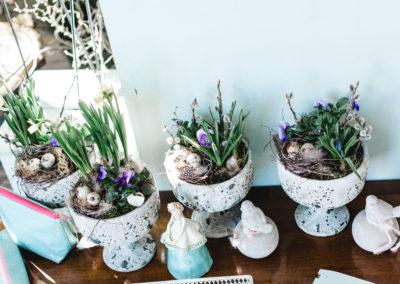auf Bestellung Blumen bepflanzt in Pokal