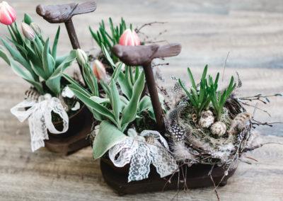 auf Bestellung spezielles Blumengefäss bepflanzt nach Anlass