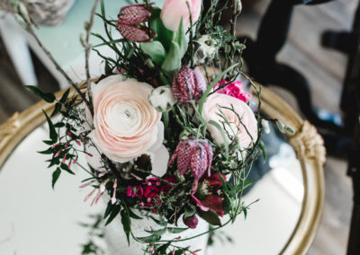 auf Bestellung Blumenschnitt in grosser Vase
